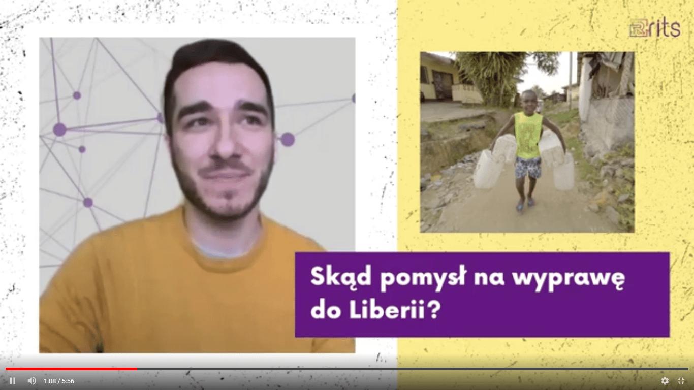 Radek o swojej wyprawie do Liberii